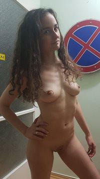 Rebecca proud of her body
