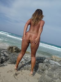 Nudist ass ready for good fucking