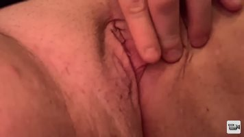 My little slut playing with her pussy