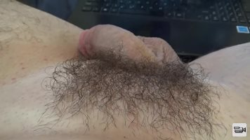part 1: oiling and fluffing my trimmed bush for all pubic hair lovers out t...