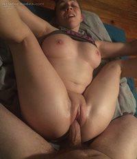 Splitting her open